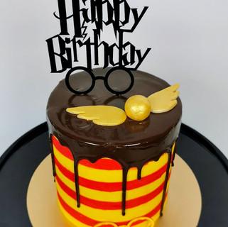 Harry Potter Thementorte Cake Topper