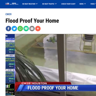 """CW39 """"Flood Proof Your Home"""""""