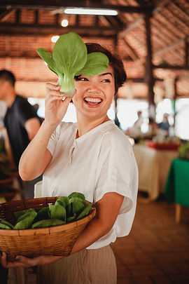 Vegetable market young person creative hospitality and restaurants