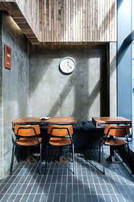 Modern restaurant hospitality for young creatives.