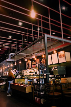 Coffee bar take away food young creative hospitality