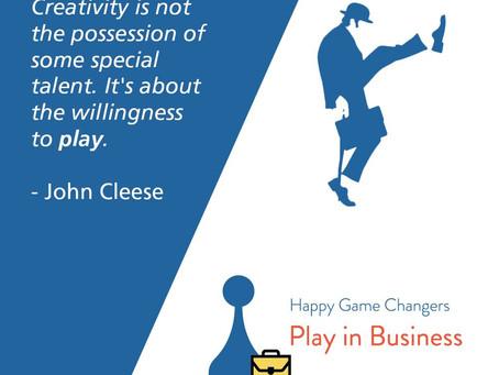 Spelen is Serious Business