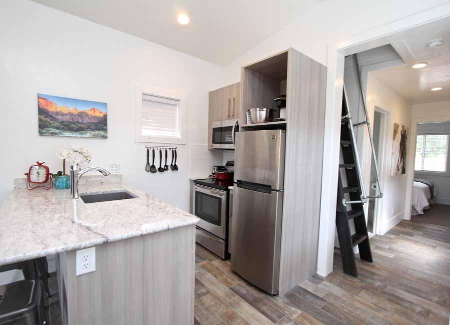 Tiny House 1-4 Kitchen Area