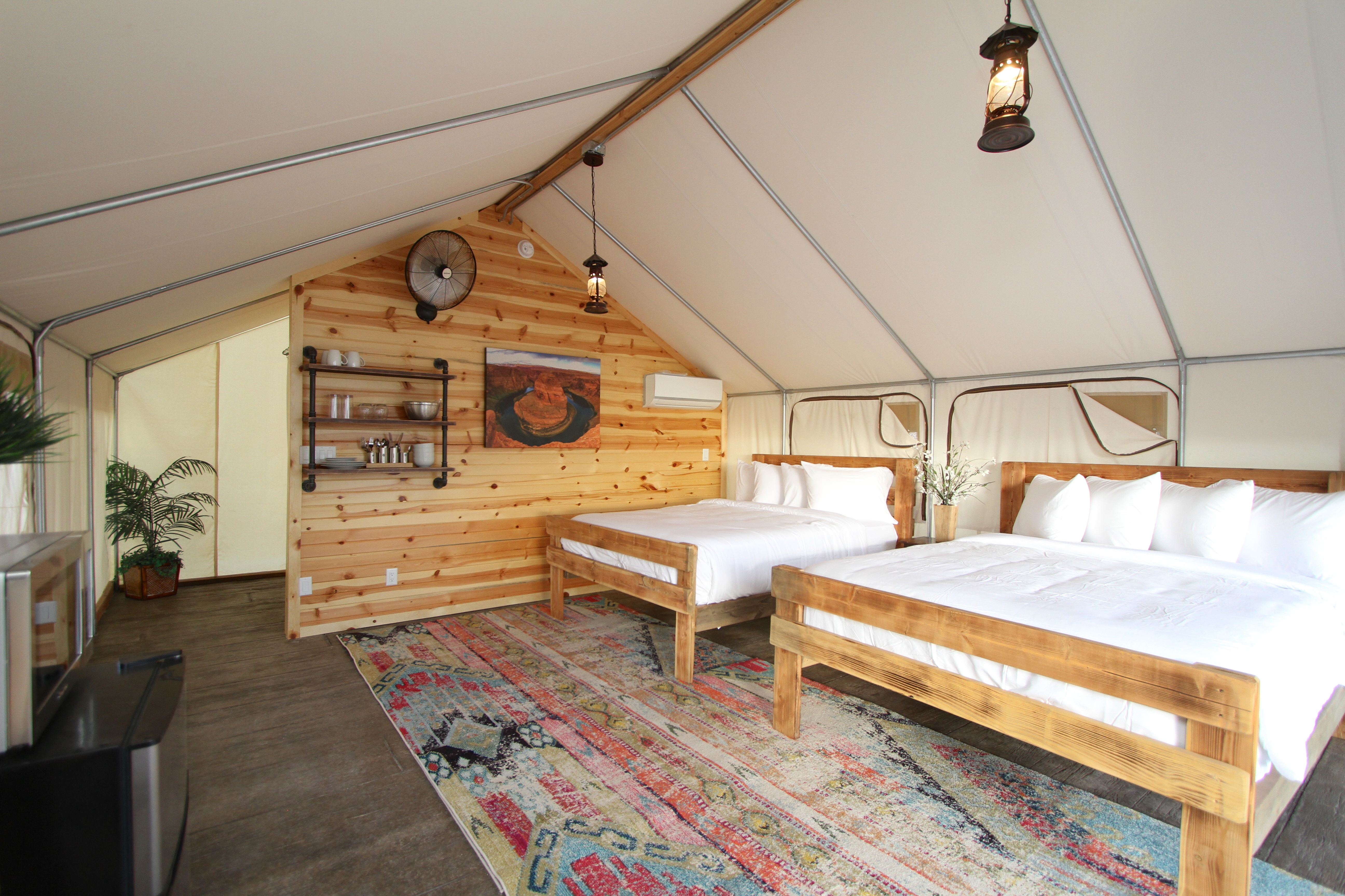 Tent 2 King Bed