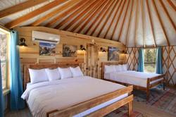 Yurt Double King Bed