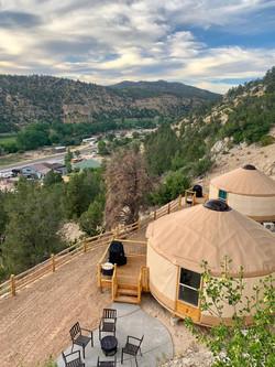 yurt 1 and 2