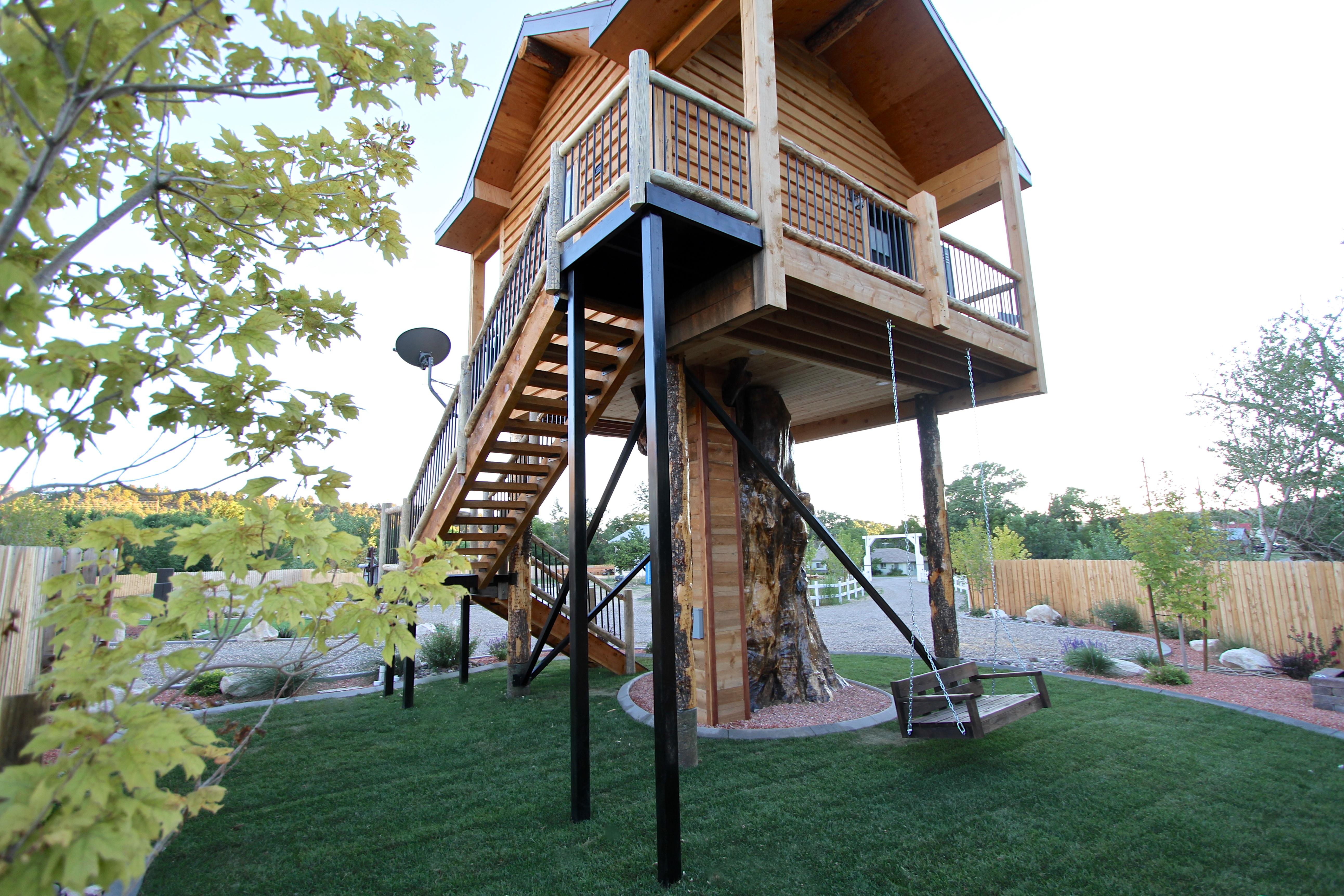 Tree House Exterior Rear