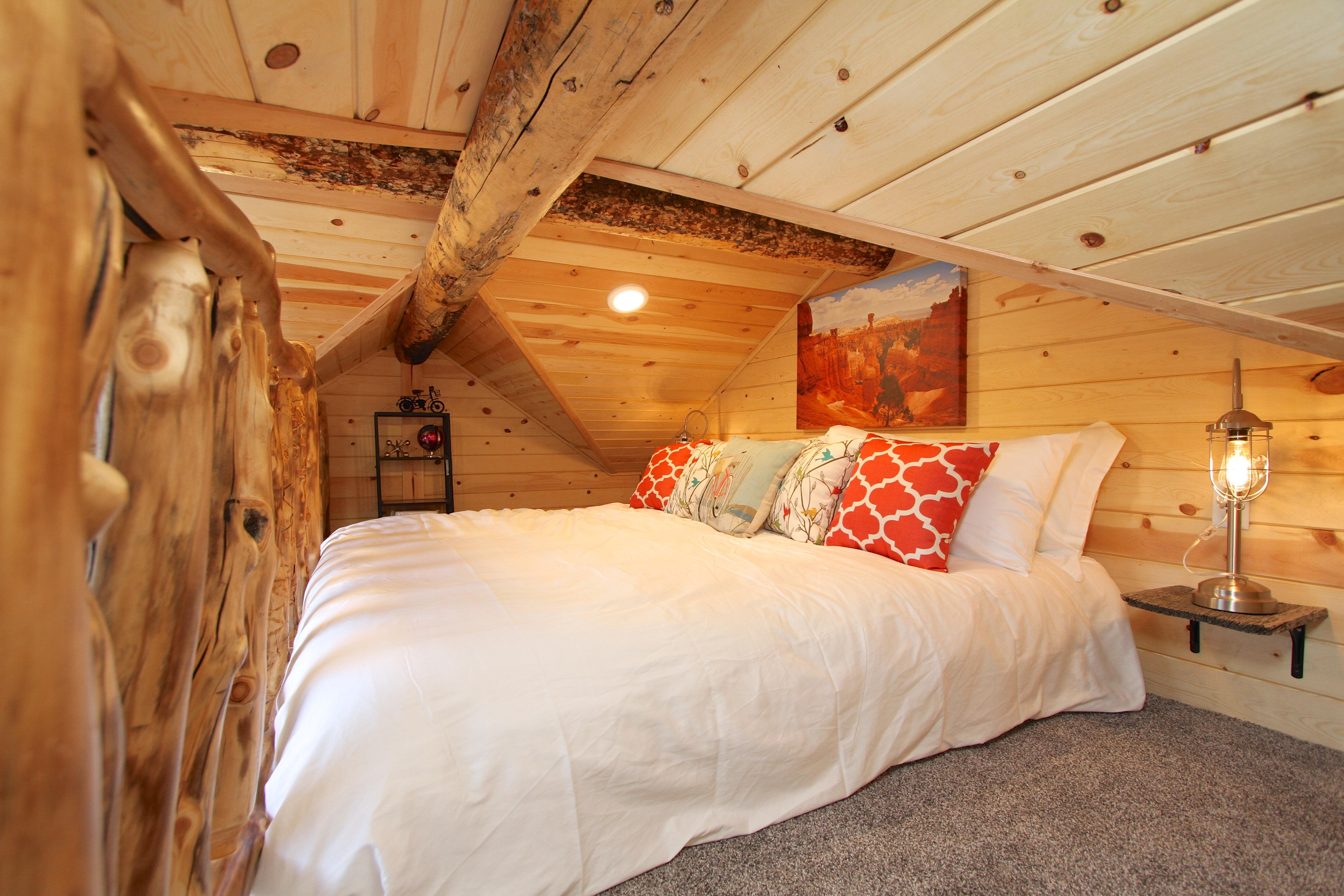 Tree House Loft King Bed