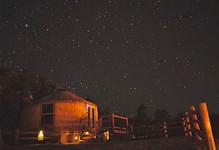 Yurt #3 Starry Night