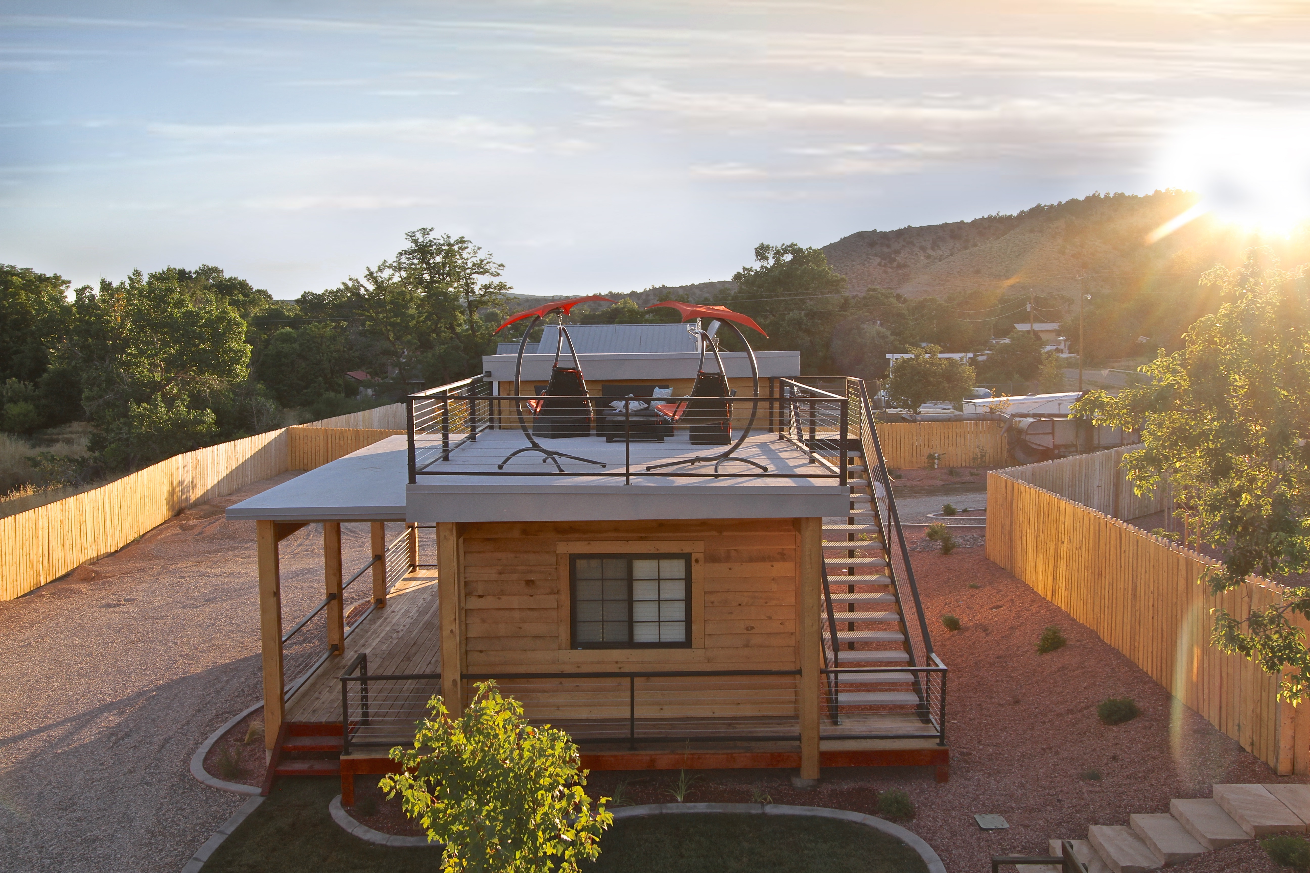 Tiny House 5-6 Rooftop