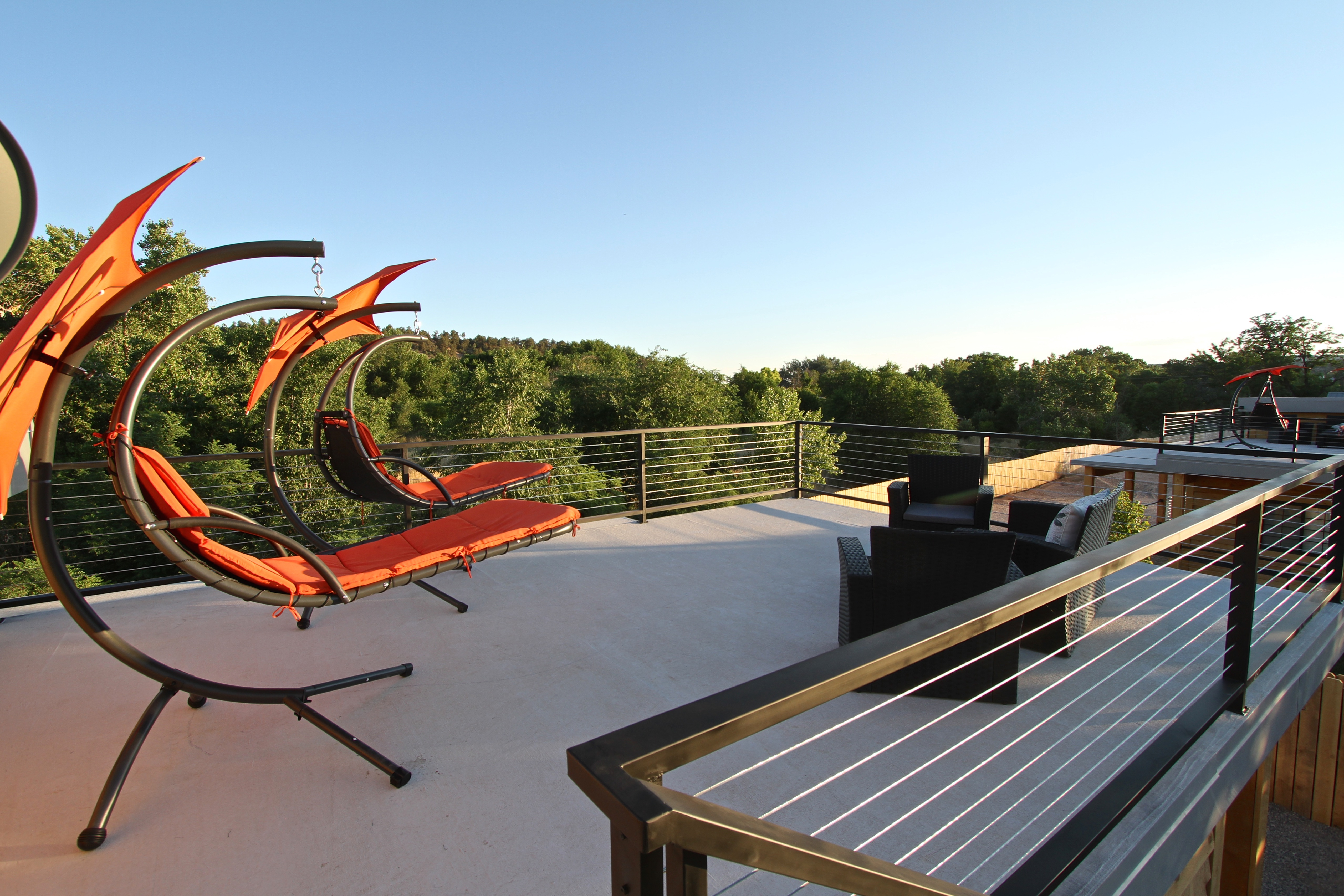 Tiny House 5-6 Rooftop Furniture