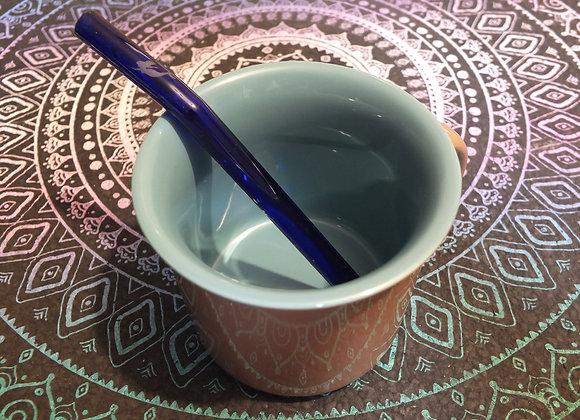 Mermaid Blue Forever Straw