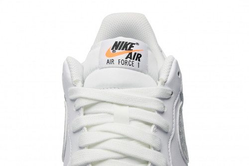 promo code 7239d 7dfd5 Nike Air Force 1  07 LV8 LNTC  Just Do It Pack  - White