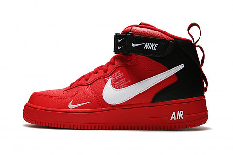 Nike Air Force 1 Mid '07 LV8 (Red)
