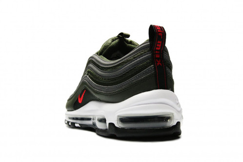 new arrival 64162 01a91 Nike Air Max 97 - Sequoia University Red