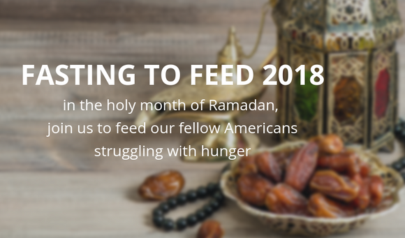 "Humanity First is launching a campaign ""Fasting to Feed' Campaign"""