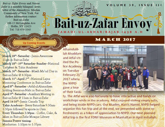 BZ Envoy, March issue now available online.