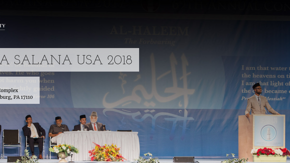 Jalsa Salana USA 2018 - Friday July 13th, 2018 to Sunday July 15th, 2018 - visit website online for