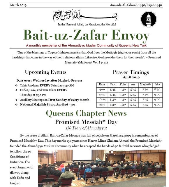 BZ Envoy, March Issue Now available online