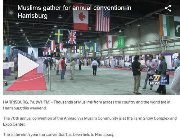 Muslims gather for annual convention in Harrisburg