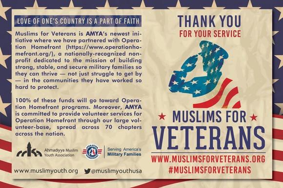 Muslims for Veterans