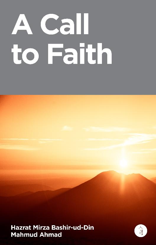 New Book by Khalifatul Masih II (ra)