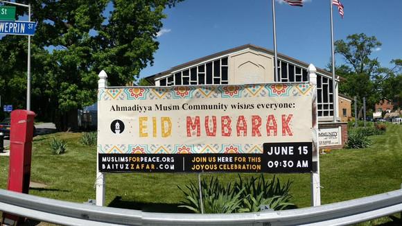 Queens Eid ul Fitr - Ahmadiyya Muslim Community Wishes everyone Eid Mubarak -BaituzZafar Queens Mo