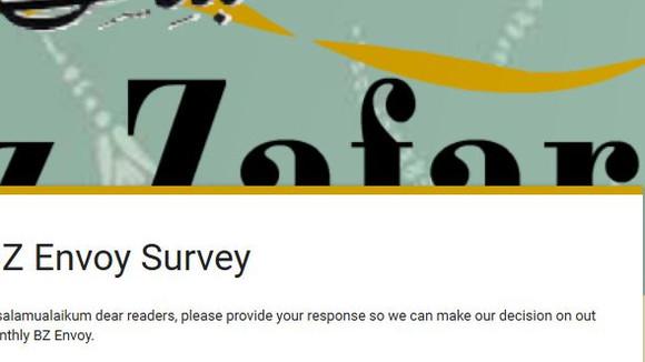 BZ Envoy Survey -
