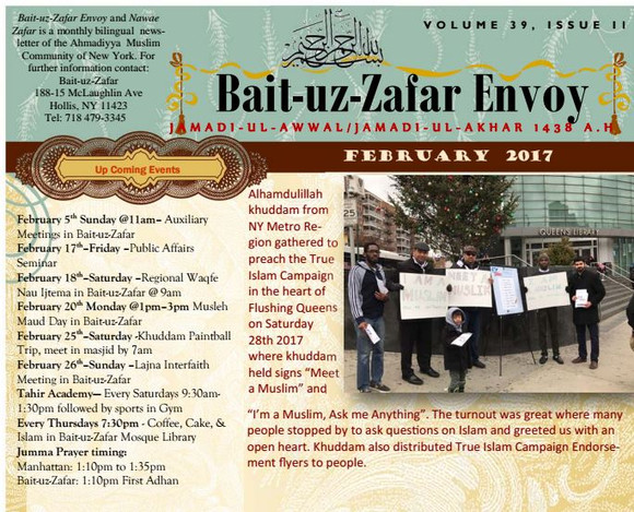 BZ Envoy, Feb Issue Now available online