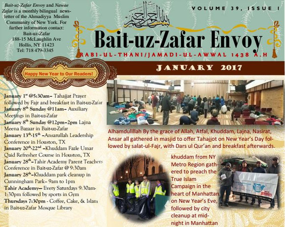 BZ Envoy, Jan issue Now available Online