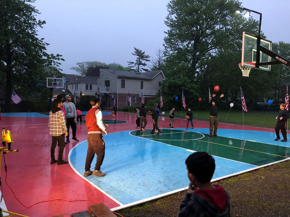 Opening Ceremony: New Basketball Court at Bait uz Zafar