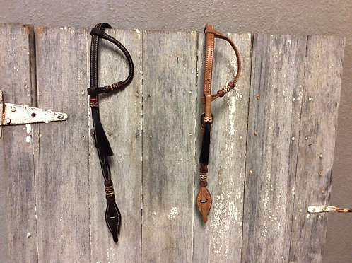 One Ear Headstall w/Horse Hair
