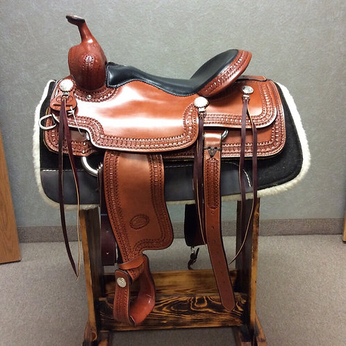 "16.5"" Billy Cook Trail Saddle #1837"