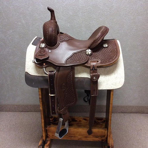 "14"" Jeff Smith Barrel Saddle (JSB-164)"