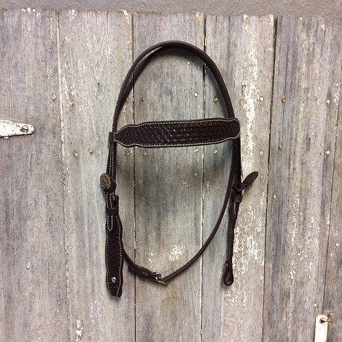 Basket Weave Headstall