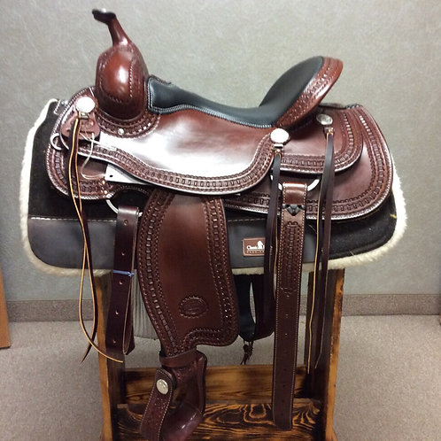 """16"""", and 17"""" Billy Cook Trail Saddle #1777"""