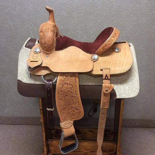 15'' Jeff Smith Barrel Saddle (JSB-114)