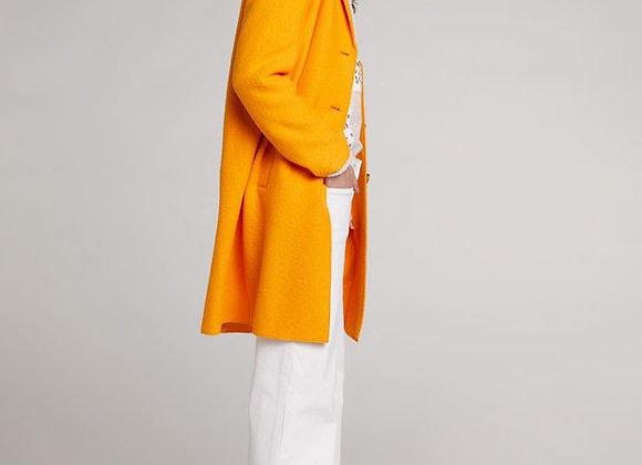 Manteau oui orange flamme