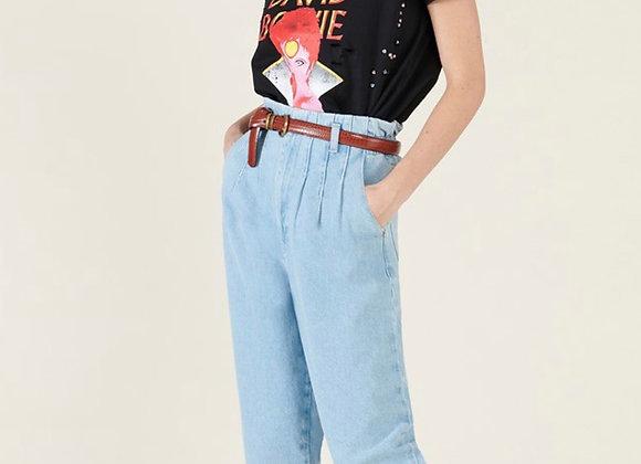 Teeshirt rock épaulettes David Bowie