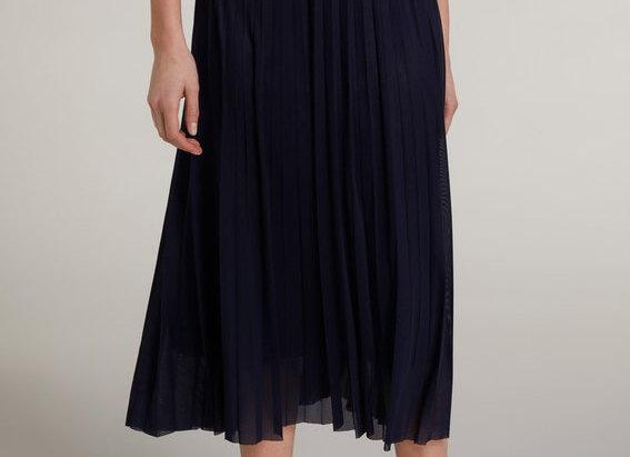 Jupe bleue plissée