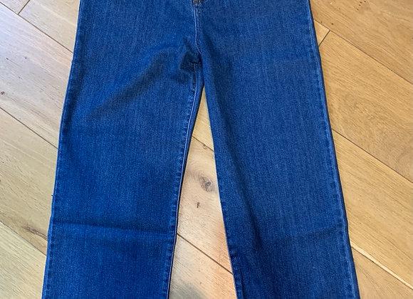 Jeans large raccourci