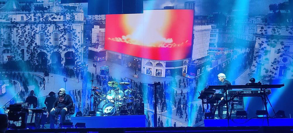 Genesis The Last Domino? Birmingham, Genesis performing Land of Confusion)