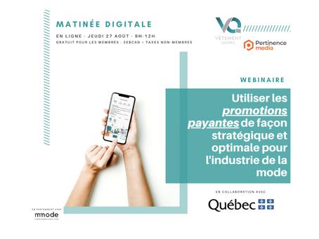 Plus de 100 entreprises ont profité des Matinées Digitales en 2020!