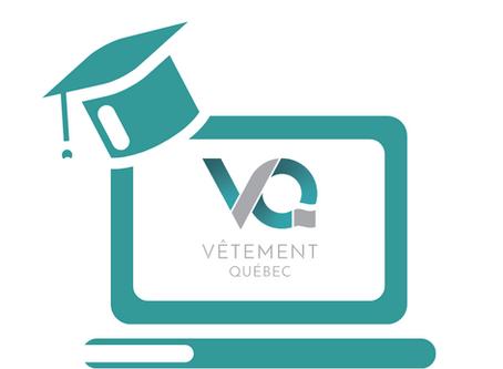 8 membres de Vêtement Québec se lancent dans une formation intensive en commerce électronique!