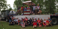 18 - Beaver Trails July 4th Float 2015