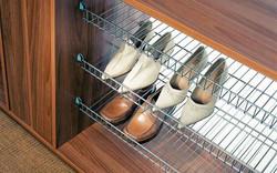 полка для обуви сетчатая