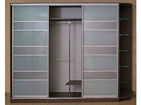 Шкаф с разбивкой мат.стекло+ЛДСП