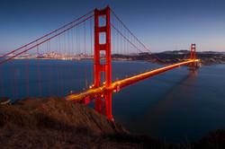 Goldegate bridge