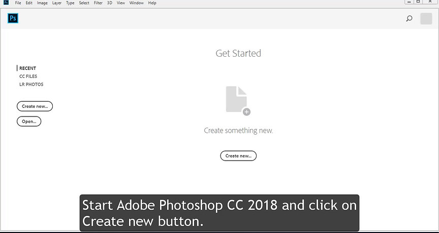 Using Selection Tool in Photoshop CC