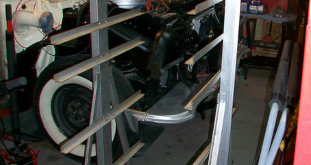 1955 Ford Part 21: Overdrive Transmission, Door Dolly, and A/C Trouble